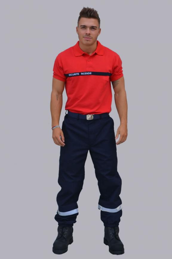 Exercise and intervention trousers for firefighters
