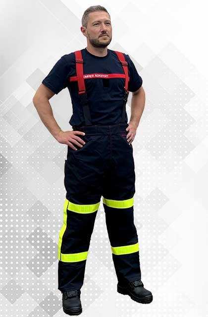 INTERVENTION TROUSERS FOR AIRPORT FIREFIGHTERS