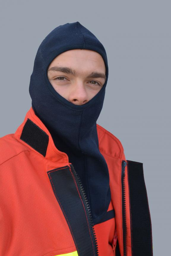 HOOD FOR FIREFIGHTERS WITHOUT FLAP